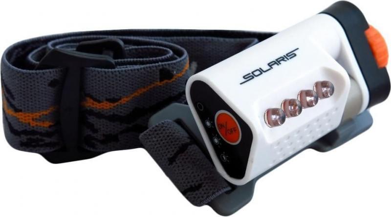 Фонарь Solaris L40 светодиодный налобный белый фонари solaris чёрный налобный фонарь