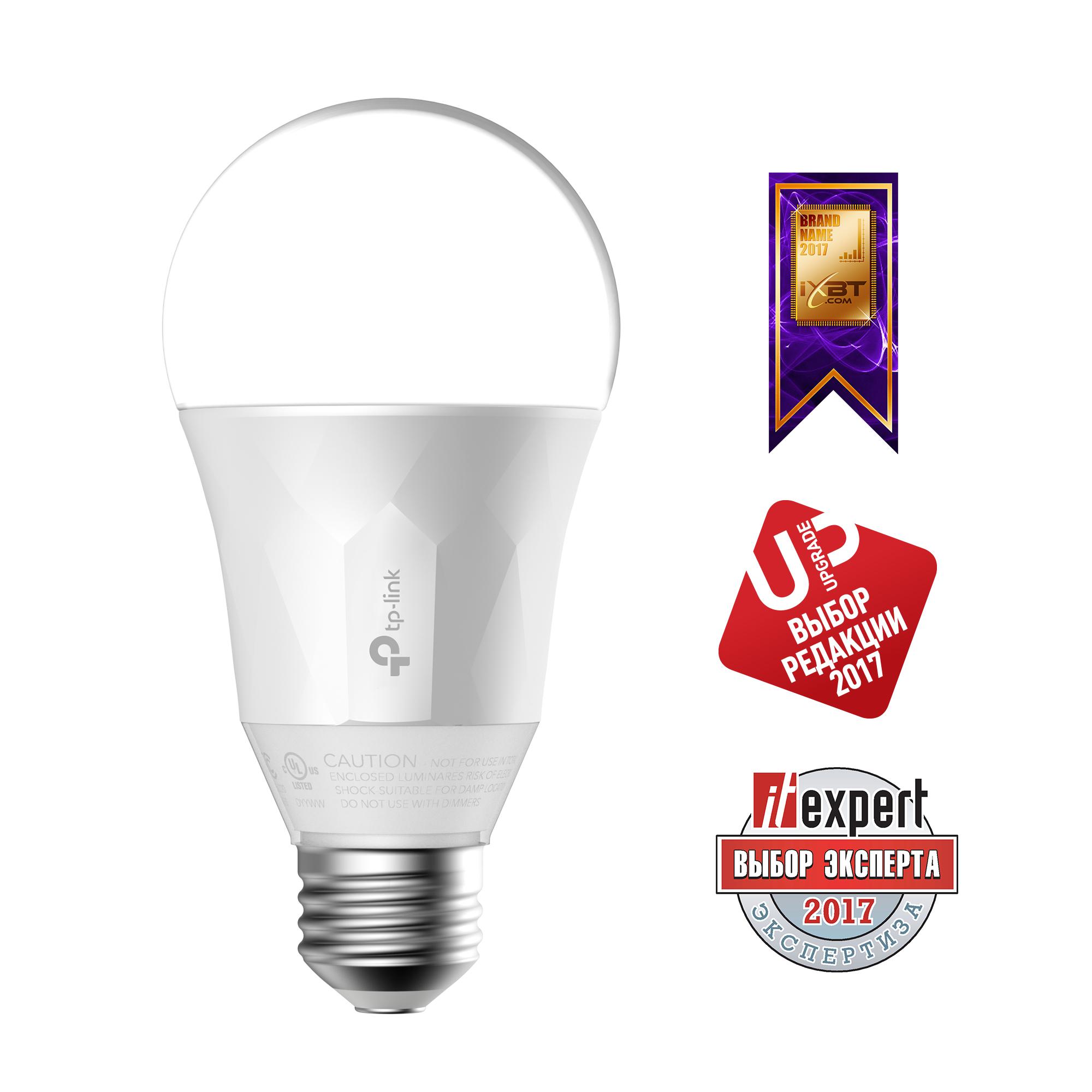 Умная Wi-Fi лампа TP-LINK LB100 умная лампа tp link lb110 e27