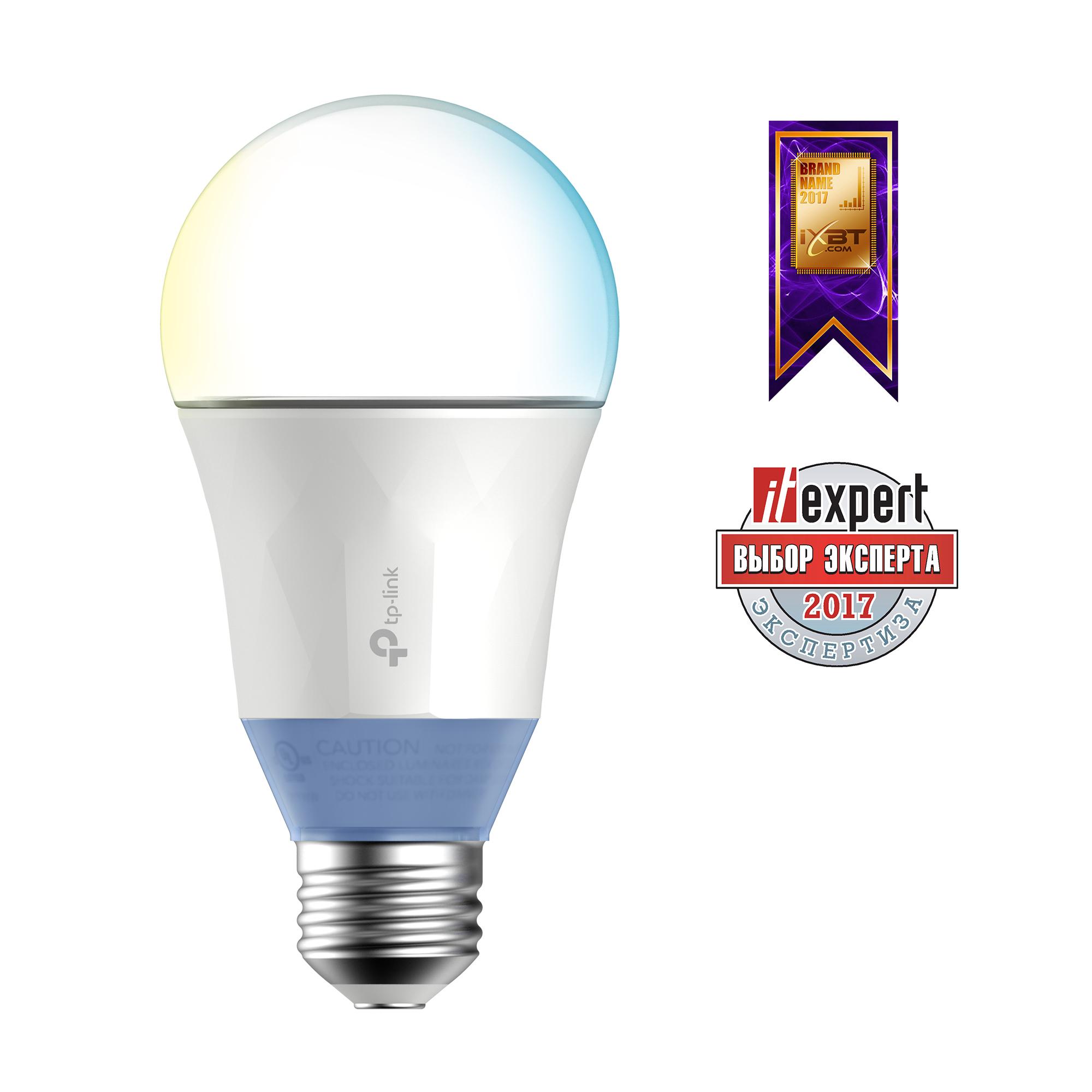 Умная Wi-Fi лампа TP-LINK LB120 Умная LED Wi-Fi лампа с регулировкой теплоты света умная лампа tp link lb110 e27