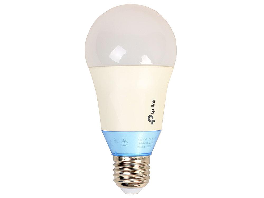 Умная Wi-Fi лампа  TP-LINK  LB120 Умная LED Wi-Fi лампа с регулировкой теплоты света