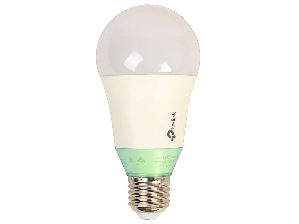 Умная Wi-Fi лампа  TP-LINK  LB110 Умная LED Wi-Fi лампа с регулировкой яркости