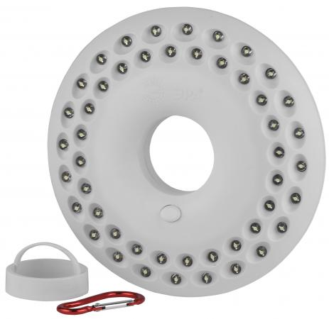 ЭРА Б0029178 Кемпинговый фонарь КВ-601 {48 светодиодов, карабин, ударопрочный пластик, 3xAA в компле