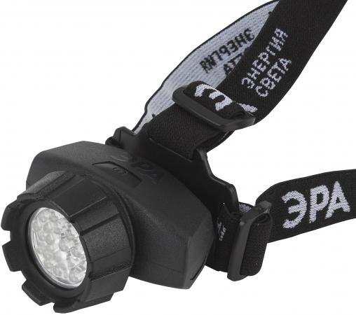 ЭРА Б0031385 Налобный фонарь GB-605 {23 светодиодова, 3хААА в комплект не входит, 4 режима}