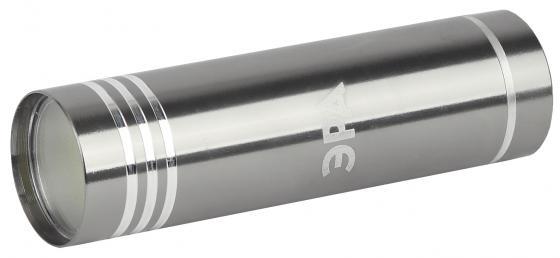 ЭРА Б0029192 Фонарь UB-401 Джет {1х1,5 Вт светодиод, алюминий, черный цвет, 3хААА в комплект не вход