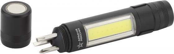 ЭРА Б0030200 Фонарь MB-702 Сапер {1,5Вт СОВ светодиод, алюминий, набор отверток, магнит, клипса 1хАА