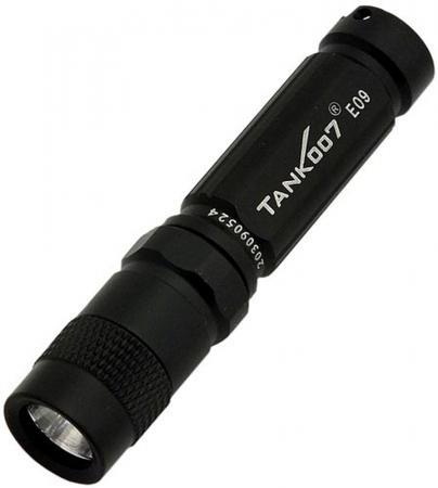 Фонарь TANK007 E09 черный cветодиодный с комплектацией фонарь tank007 e09 black