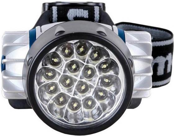 Фонарь CAMELION LED5322-16Mx  налобн металлик 16 ультра ярк led 4 реж 3xr03 в компл пласт блист