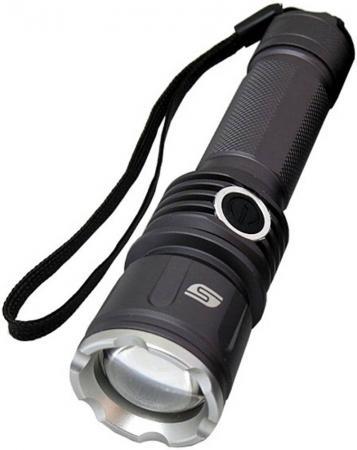Фонарь ручной Solaris FZ-50 чёрный фонари solaris чёрный налобный фонарь