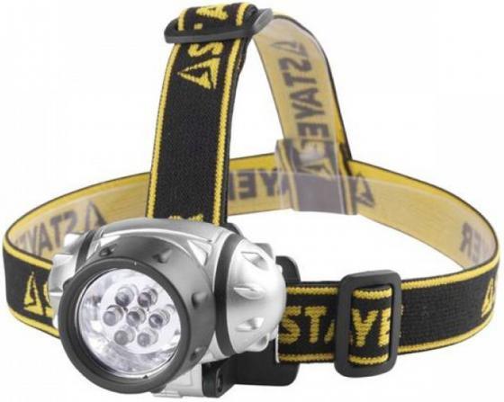 Фонарь STAYER 56572 standard налобный светодиодный 7led 3 режима 3ааа фонарь чингисхан 198 111