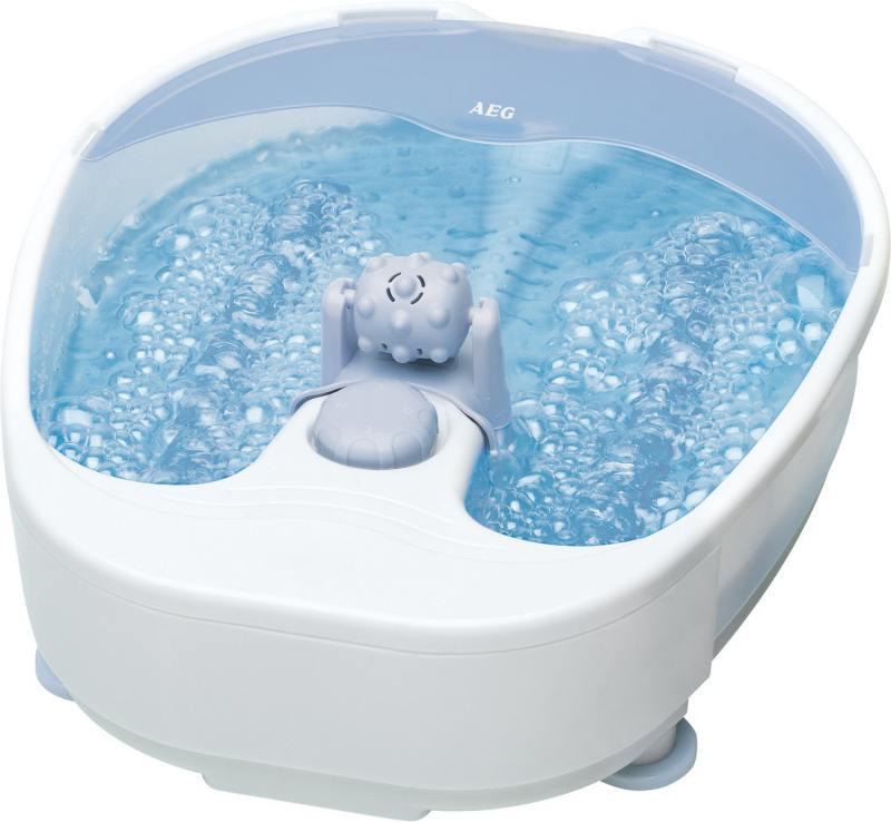 Массажная ванночка для ног AEG FM 5567 white-grau пила торцовочная aeg ps 216 l