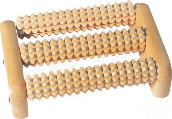 Массажер Банные штучки 40160 массажер деревянный банные штучки роликовый для ног