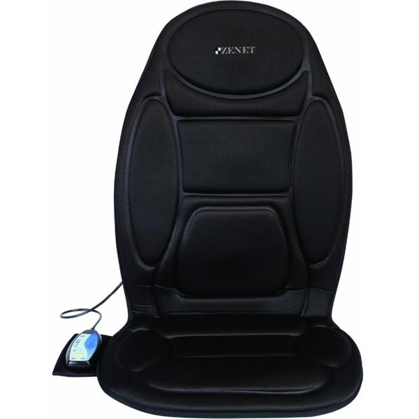 Фото - Массажная накидка ZENET ZET-810, 5 программ массажа, функция прогрева, адаптер в авто авто