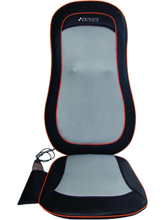 Массажная накидка ZENET ZET-828, шиатсу массаж спины, вибрационный массаж, несколько уровней интенсивности массажа, функция прогрева накидка массажная zenet zet 828