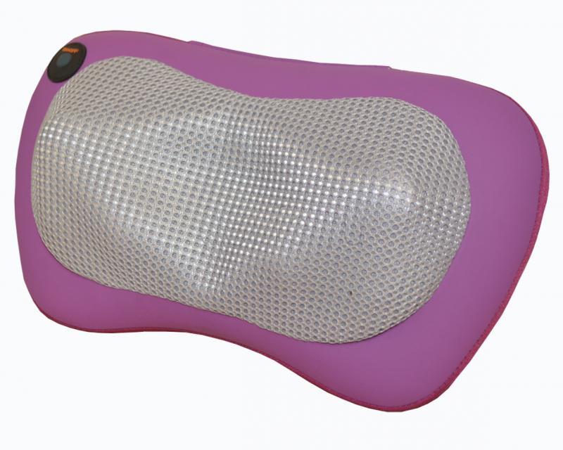 Массажная подушка ZENET ZET-721, 4 массажные головки, зоны массажа - шея, спина и поясница, режим прогрева, питание от электросети или прикуривате накидка массажная zenet zet 828