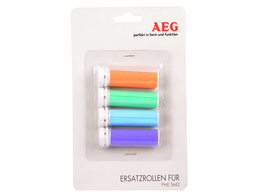 Ролики сменные для AEG PHE 5642 педикюрный набор aeg phe 5642 w f