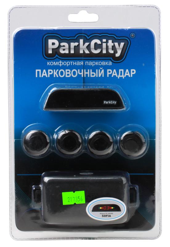 Парковочный радар ParkCity Sofia 418/202 Black Упаковка Прозрачный Блистер