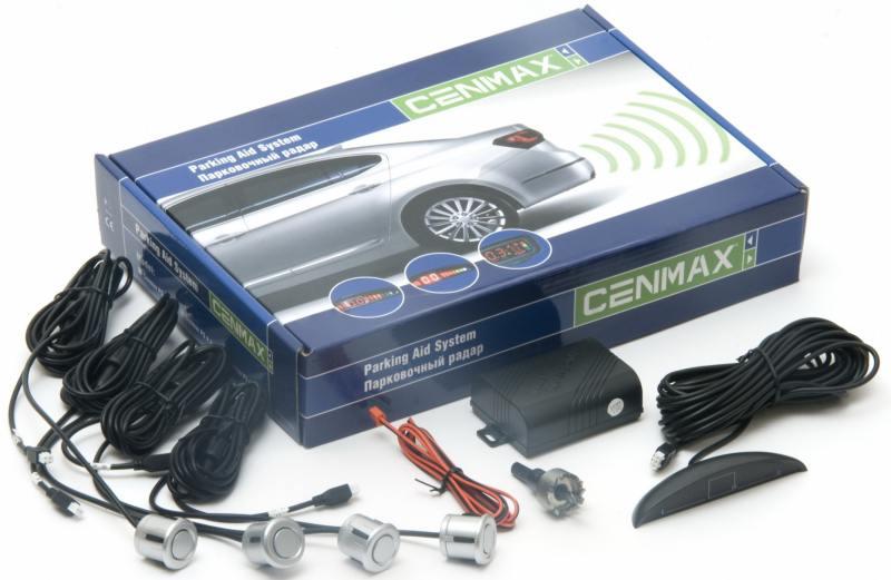 Парктроник Cenmax РS-4.1 серебристый стоимость