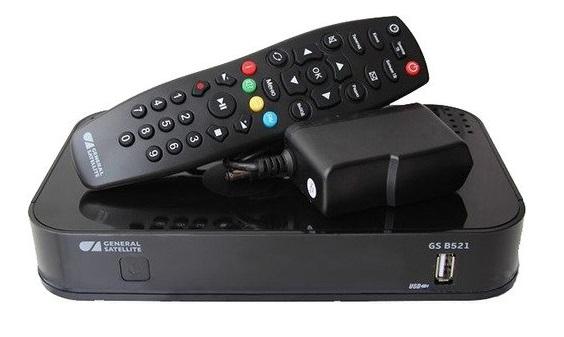 Спутниковый TV комплект ТРИКОЛОР Full HD GS B521