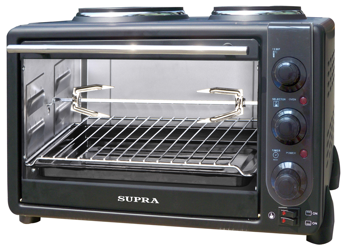 Мини-печь SUPRA MTS-342 black