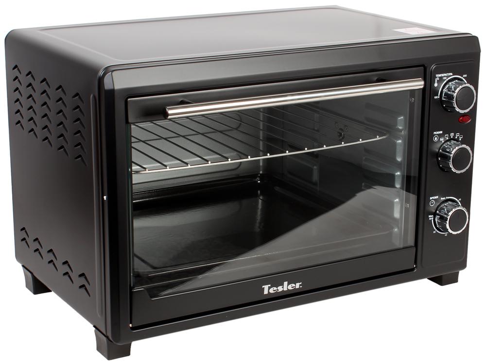 Мини-печь TESLER EOG-4800 BLACK 2000Вт, 48л, 100-230°С