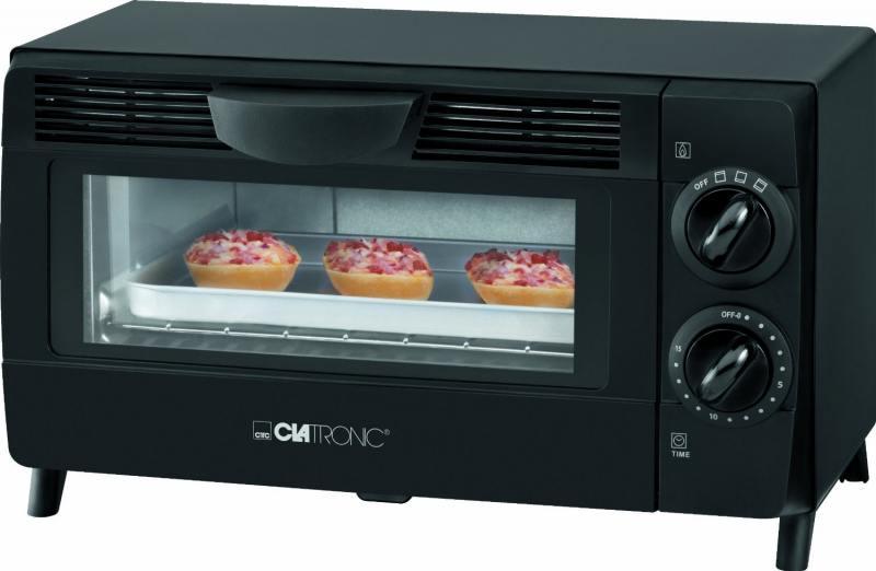 Мини печь Clatronic MB 3463 black 8 L мини печь clatronic mpo 3520