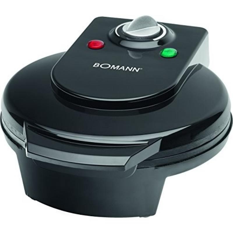 Вафельница Bomann WA 5018 CB black стиральная машина bomann wa 5834