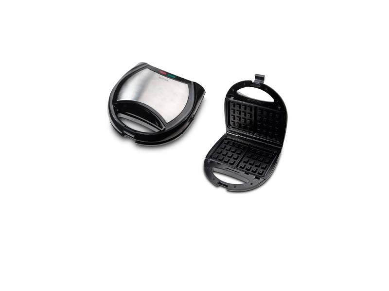 Вафельница SUPRA WIS-444 650Вт черно-серебристый