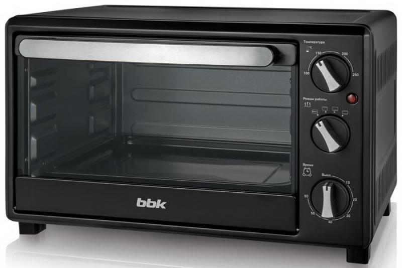 Мини-печь BBK OE2342M чёрный тостер bbk tr72m white