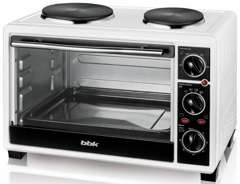 Мини-печь BBK OE2654M-2P белый чёрный
