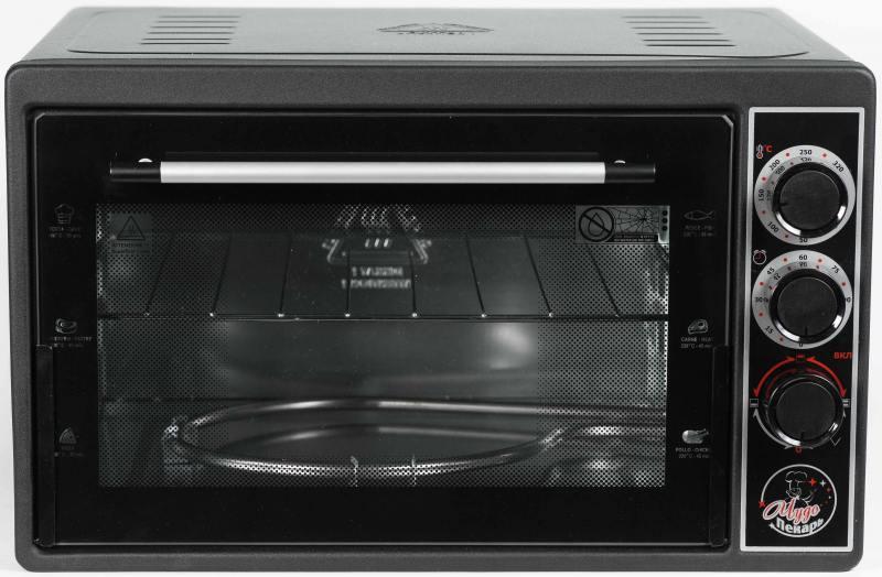 Мини-печь Чудо Пекарь ЭДБ-0123 черный мини печь чудо пекарь эдб 0123 бел