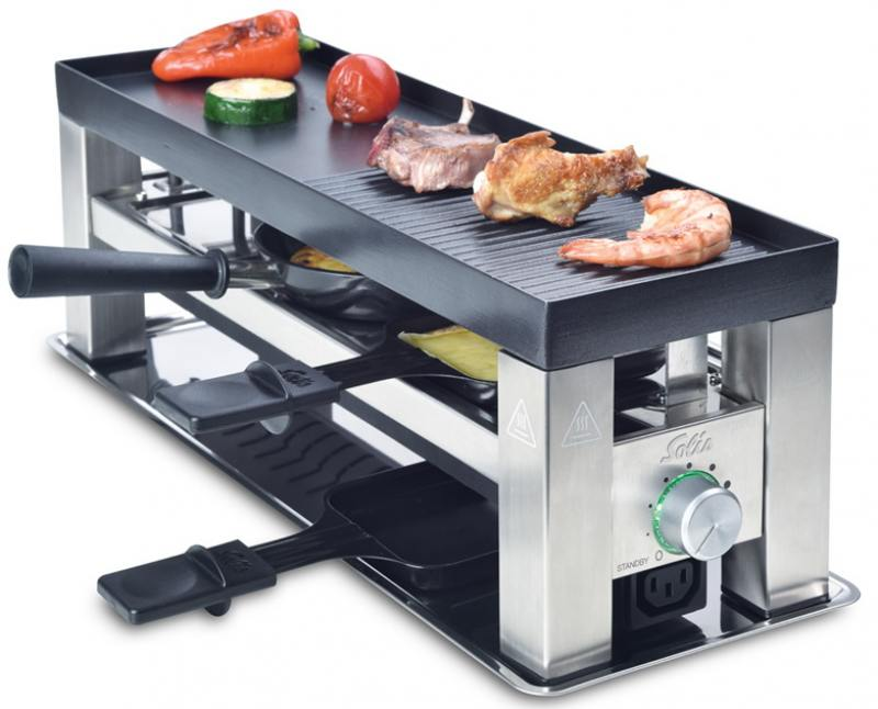 Раклетница Solis Table Grill 4 in 1 раклетница solis table grill 4 in 1