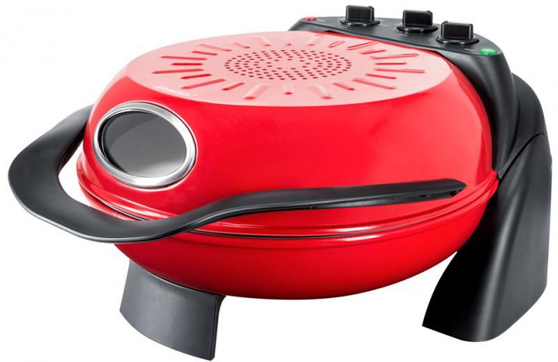 Прибор для приготовления пиццы Steba PB 1 красный чёрный приборы для выпечки ariete прибор для приготовления пиццы 905 da gennaro