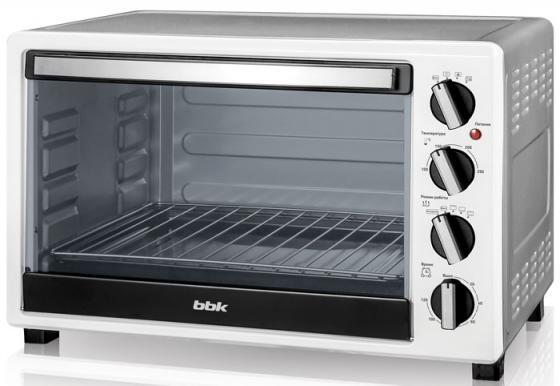 Мини-печь BBK OE4522MC белый металлик микроволновая печь bbk 23mws 927m w 900 вт белый
