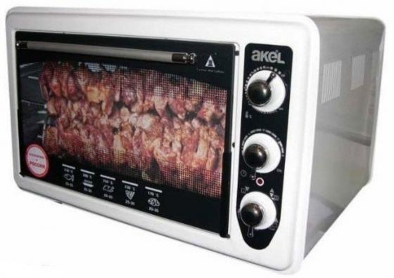 Мини-печь Akel AF-740 белый цены онлайн