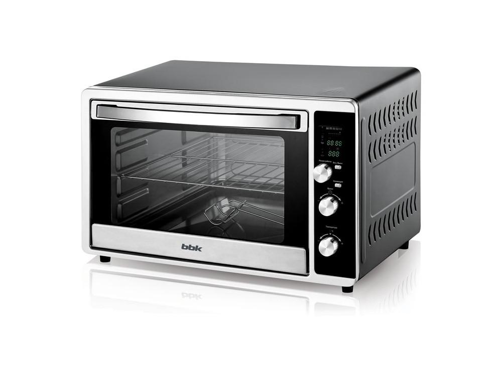 Мини-печь BBK OE3073DC черный/серебро bbk bs05 розовый серебро