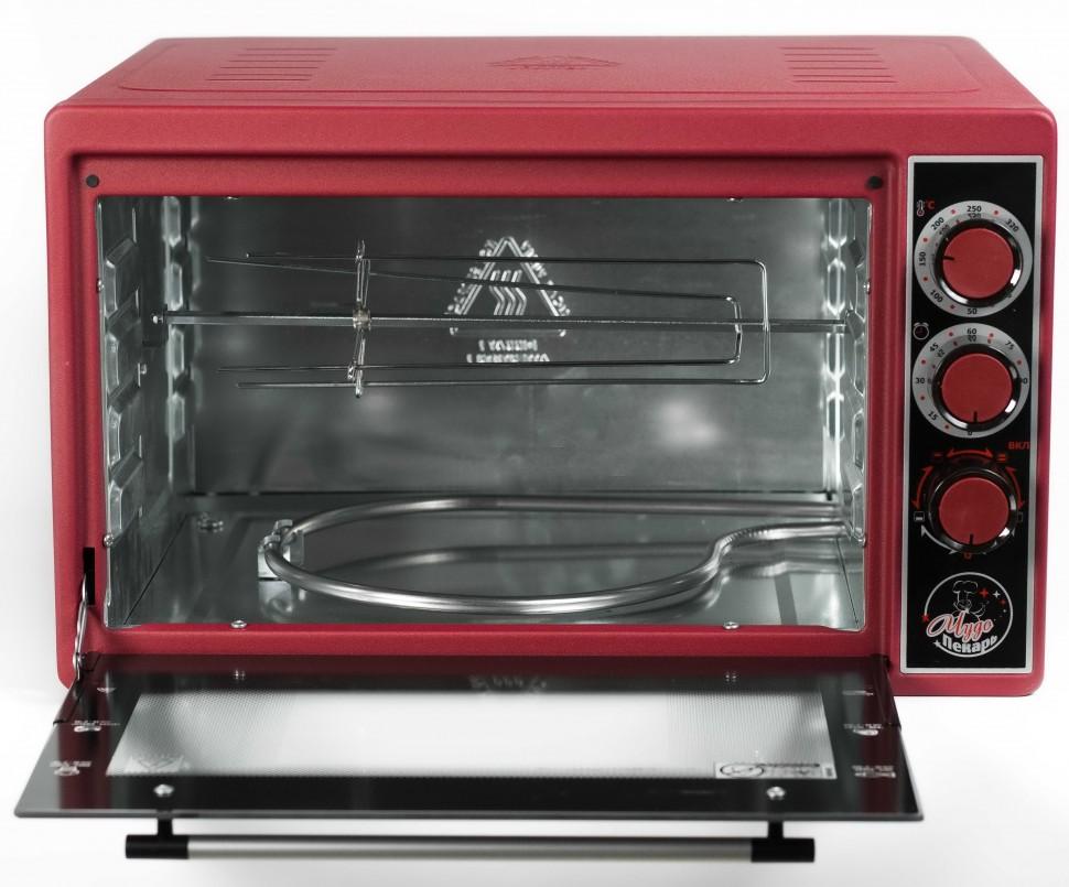 Мини-печь Чудо Пекарь ЭДБ-0124 красный