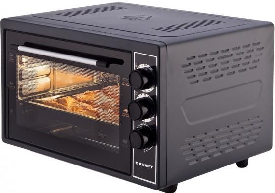 Мини-печь Kraft KF-MO 3801 BL чёрный