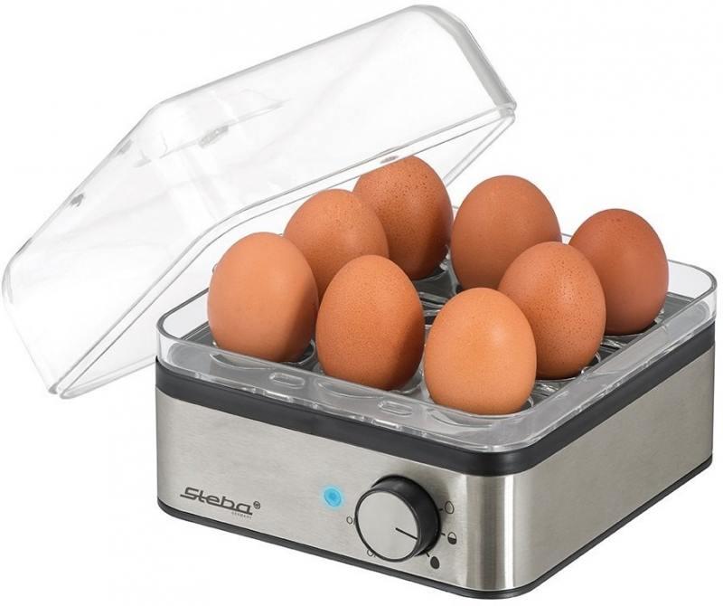 Яйцеварка Steba EK 5 400 Вт серебристый яйцеварка steba ek 5