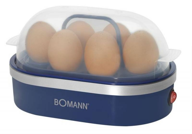 Яйцеварка Bomann EK 5022 CB blue яйцеварки first яйцеварка