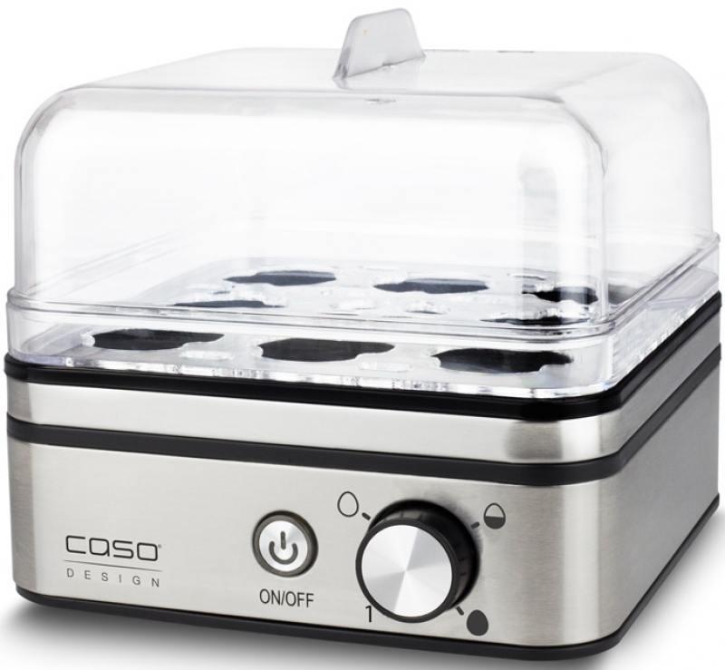 Яйцеварка CASO E 9 400 Вт серебристый цена и фото