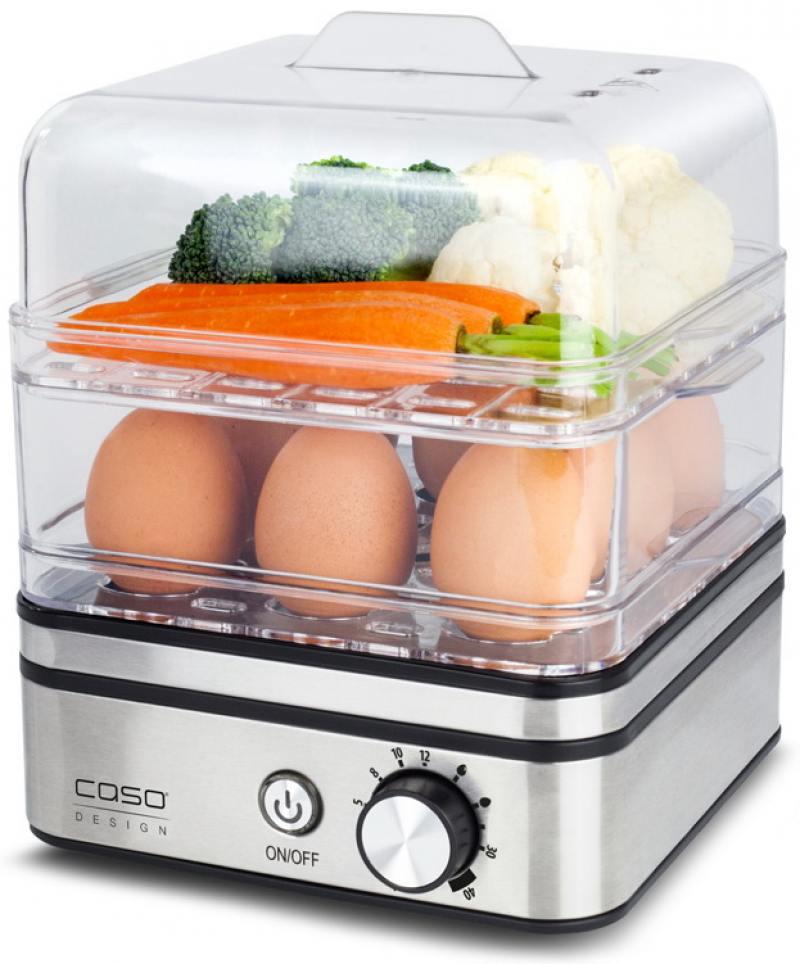 Яйцеварка CASO ED 10 400 Вт серебристый яйцеварка пароварка caso ed 10