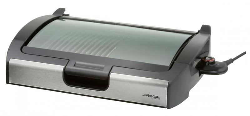 Электрогриль Steba VG 200 серебристый чёрный электрогриль steba vg 400