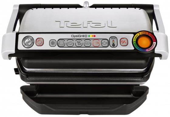 Электрогриль Tefal GC712D12 серебристый чёрный
