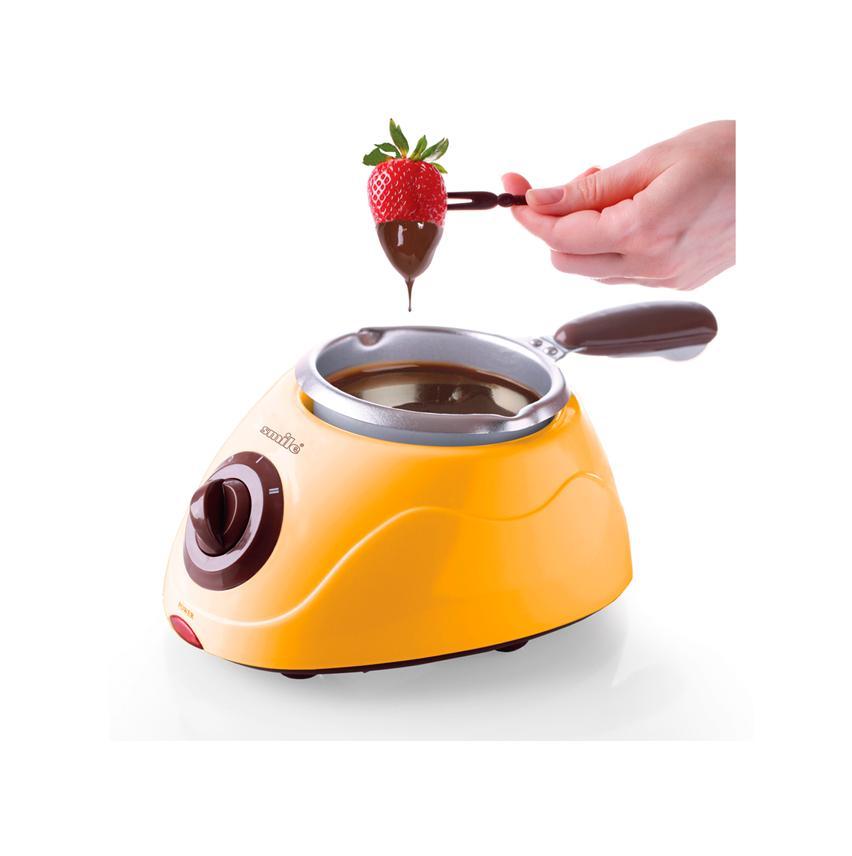 Прибор для приготовления шоколадного фондю SMILE FD 4001 прибор для приготовления шоколадного фондю tristar cf 1604 оранжевый