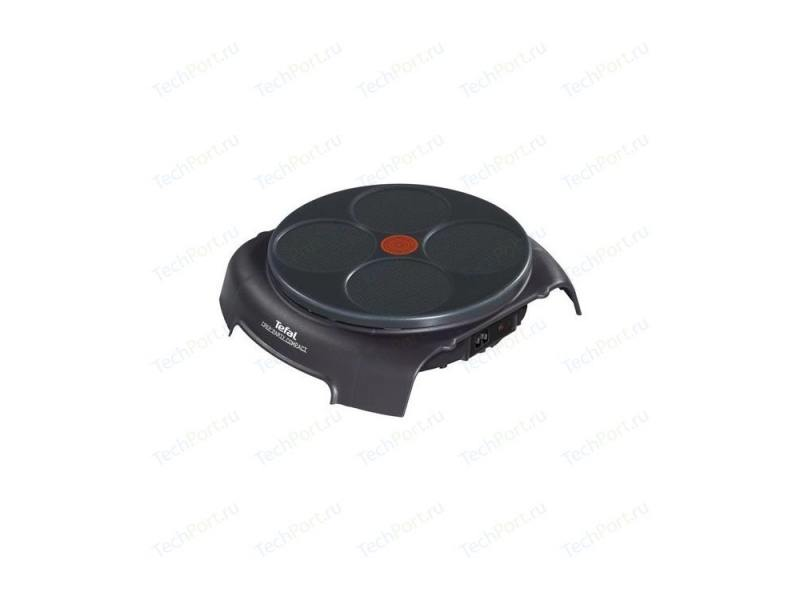 Блинница Tefal PY303633 Crep Party Compact черный tefal py5593 электрическая блинница