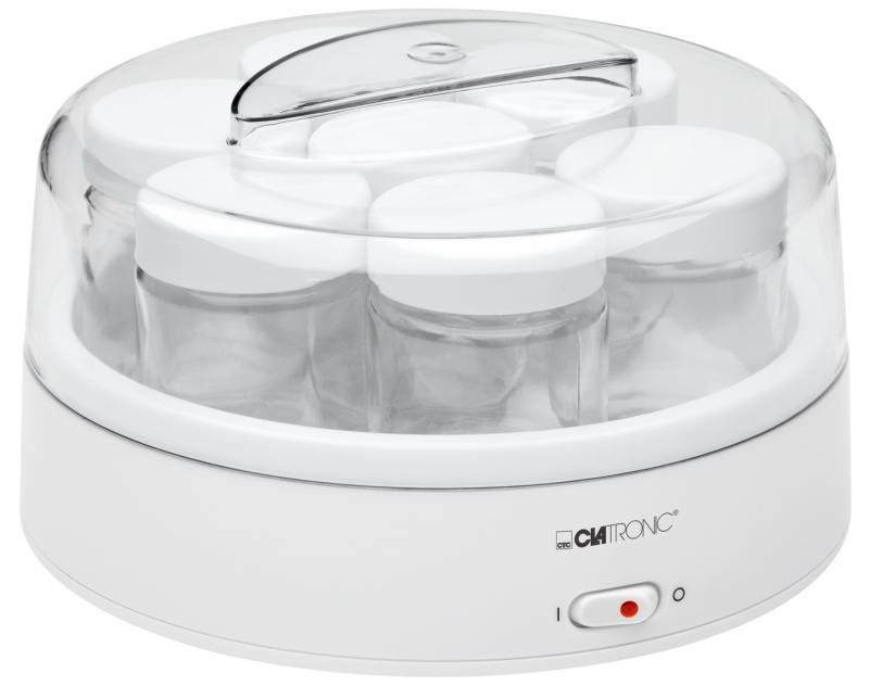 Йогуртница Clatronic JM 3344 white мини печь clatronic mbg 3521