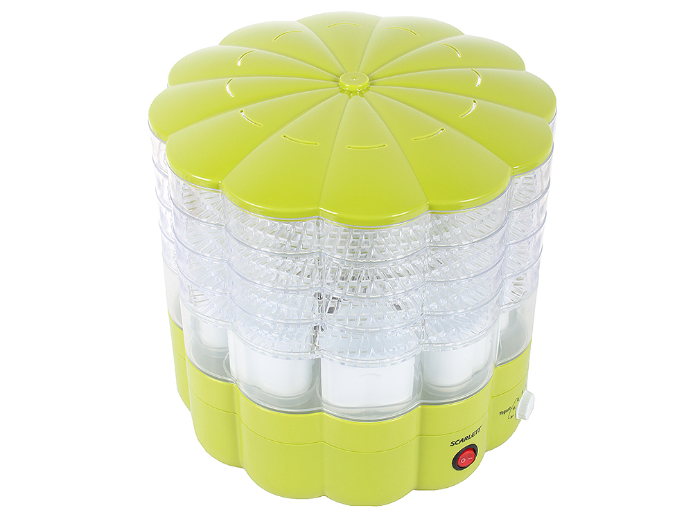 Сушка для продуктов Scarlett SC - FD421001 (зеленый) сушилка для овощей scarlett sc fd421001 белый
