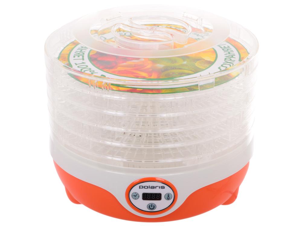 Сушилка для овощей и фруктов Polaris PFD 0605D, Оранжевый