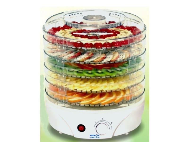 Сушилка для овощей и фруктов Аксион T 33 комплект приставок к мясорубкам аксион ам 11 02