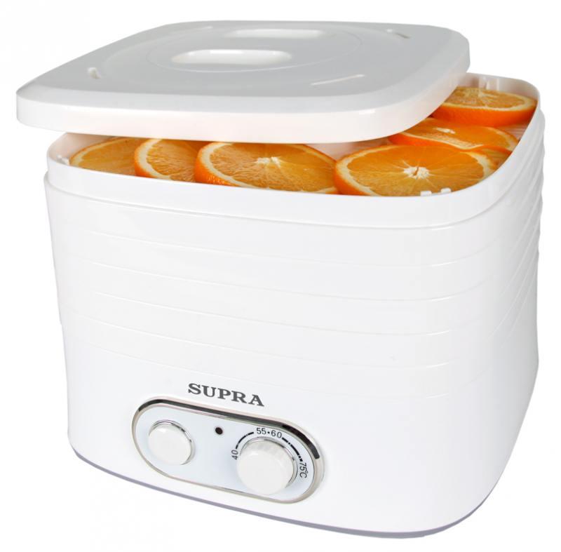 Сушилка для овощей и фруктов Supra DFS-523
